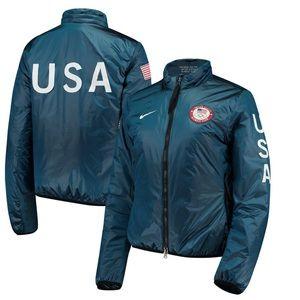 Team USA Nike LAB Women's Full-Zip Midlayer Jacket